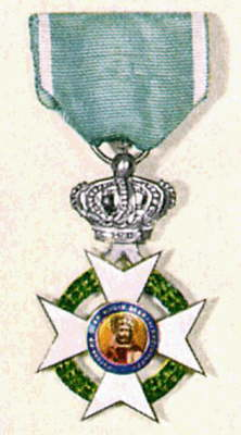 greece knighthood badge