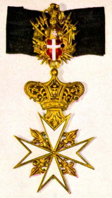 papal knighthood medal