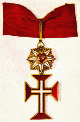 south american knight badge